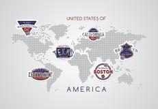 America emblem Stock Photography