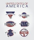 America emblem Stock Photos