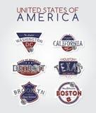 America emblem Stock Photos
