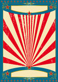 America for ever. A vintage american background for a poster Stock Photo