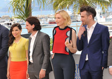America Ferrera et Kit Harington et Cate Blanchett et Jay Baruchel Photos libres de droits