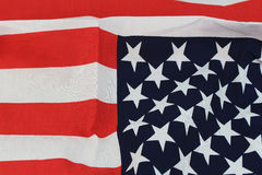 America flag wall background Stock Image