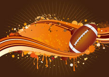 America  football background Royalty Free Stock Image
