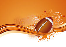 America football background Stock Photos