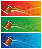America football sport. Football sport,  design element Royalty Free Stock Images