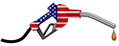 America gas nozzle Stock Image