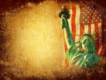 America grunge background Stock Image