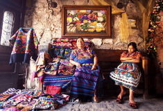 AMERICA LATINA GUATEMALA ANTIGUA Fotografie Stock Libere da Diritti
