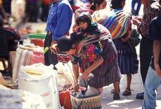 AMERICA LATINA GUATEMALA CHICHI Fotografie Stock