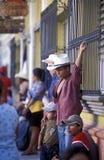 AMERICA LATINA HONDURAS COPAN Fotografie Stock Libere da Diritti