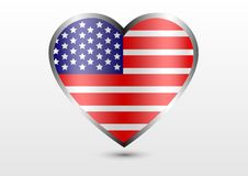 America love country Stock Images