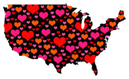 America love Royalty Free Stock Images