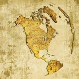 America map Stock Image