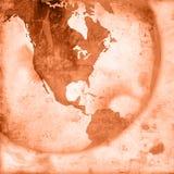 America map-vintage artwork Royalty Free Stock Images