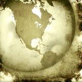 America map-vintage artwork Stock Image