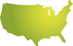 america mapa Obraz Royalty Free