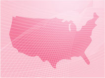 america mapa Zdjęcia Stock