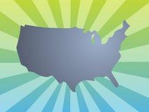 america mapa Obrazy Stock
