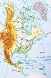 america metaforyka map nasa północ Zdjęcie Stock