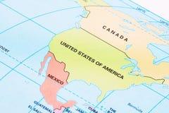 america metaforyka map nasa północ Fotografia Royalty Free
