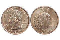 america moneta Zdjęcia Stock