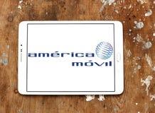 America movil mobile operator logo Stock Images