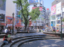 Japanese fashion Osaka Japan Royalty Free Stock Image
