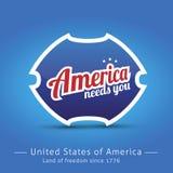 America needs you. Vector abstract Stock Photo