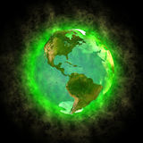 america piękna ziemi planeta Fotografia Stock