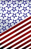 America: Red, white and blue Royalty Free Stock Photo