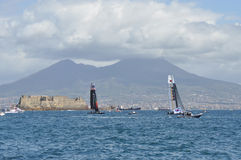 America's Cup 2012 in Naples Royalty Free Stock Image