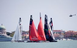 America's Cup stock image