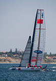 America's Cup AC World Series Royalty Free Stock Image