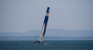 America's Cup AC World Series - Aleph Team Royalty Free Stock Image