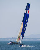America S Cup AC World Series - Aleph Team Stock Image