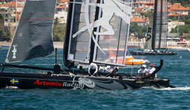 America's Cup AC World Series - Artemis Racing Stock Image
