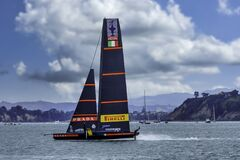 Free America`s Cup Action Stock Images - 213488814
