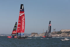 2013 America's Cup Finals San Francisco Stock Photo