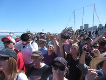 America's Cup Finals Stock Photography
