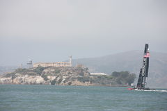AMERICA'S CUP RACES Royalty Free Stock Image