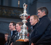 America's Cup in Sf Stock Image