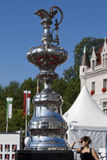 America's Cup Trophy Stock Photo