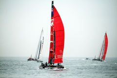 America's cup world series Royalty Free Stock Photo
