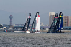 America`s Cup World Series, Fukuoka 2016 Royalty Free Stock Image