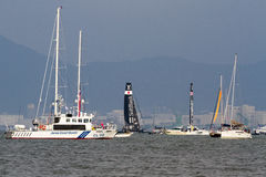 America`s Cup World Series, Fukuoka 2016 Stock Images