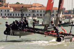 America's Cup World Series in Venice royalty free stock images