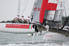 America's Cup World Series Venice - Luna Rossa Royalty Free Stock Photography