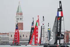 America's Cup World Series Venice - Regatta Stock Photo