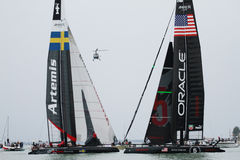 America's Cup World Series Venice - Regatta Royalty Free Stock Images