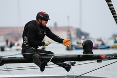 America's Cup World Series Venice - YANN GUICHARD Stock Images